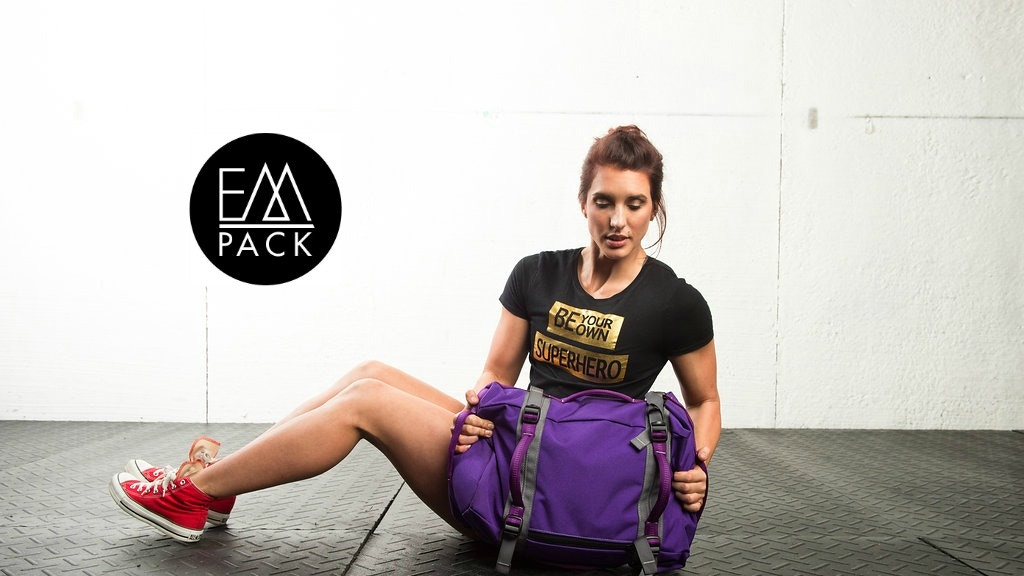 EMPACK: The Multi-Functional Weight Training Backpack project video thumbnail