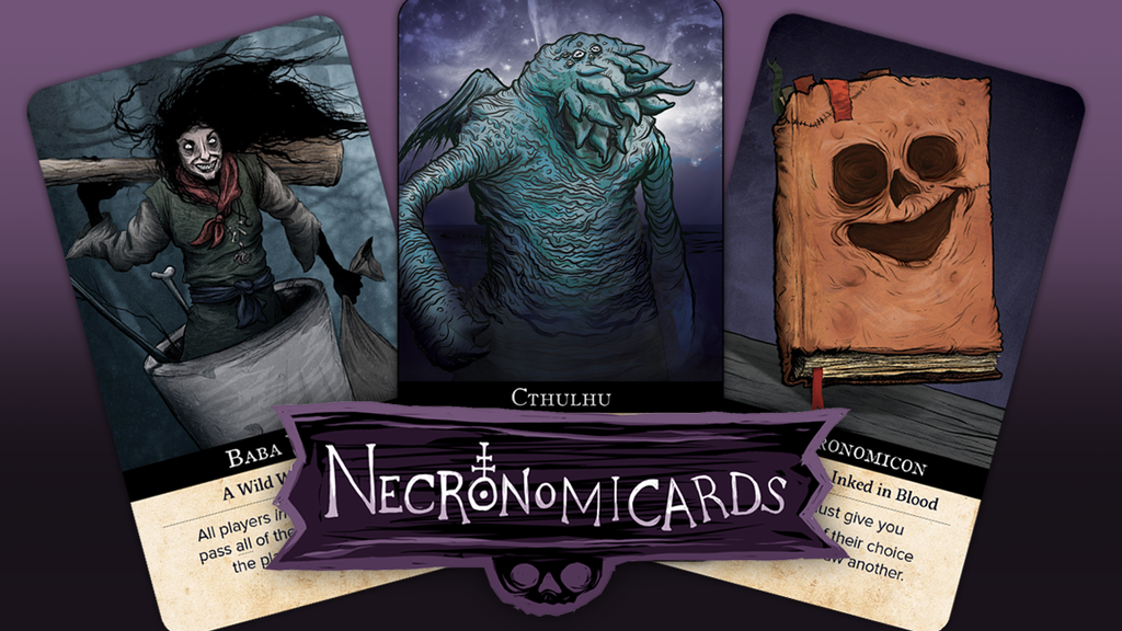NecronomiCards: A Lovecraftian card game of strategy & luck. project video thumbnail