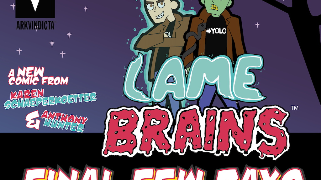 LAMEBRAINS - The End Of The World Odd Couple! project video thumbnail