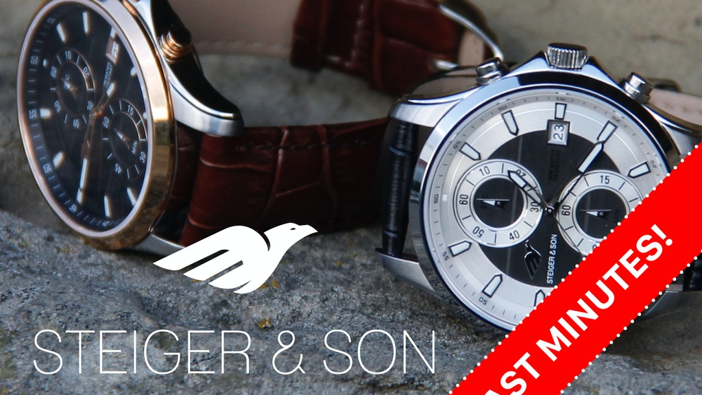 STEIGER & SON CHRONO: German precision - unbeatable price project video thumbnail