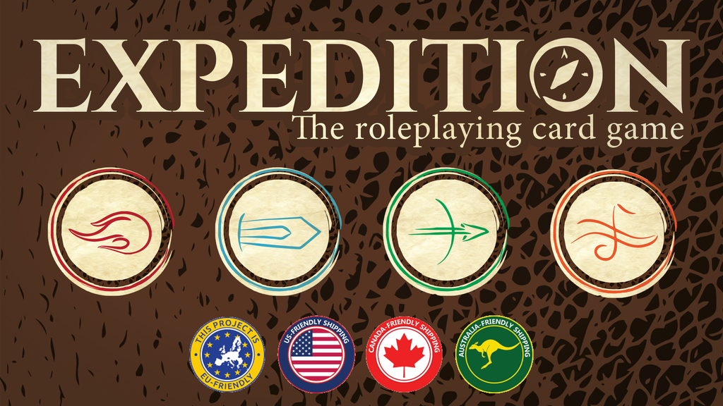 Expedition: The Roleplaying Card Game project video thumbnail