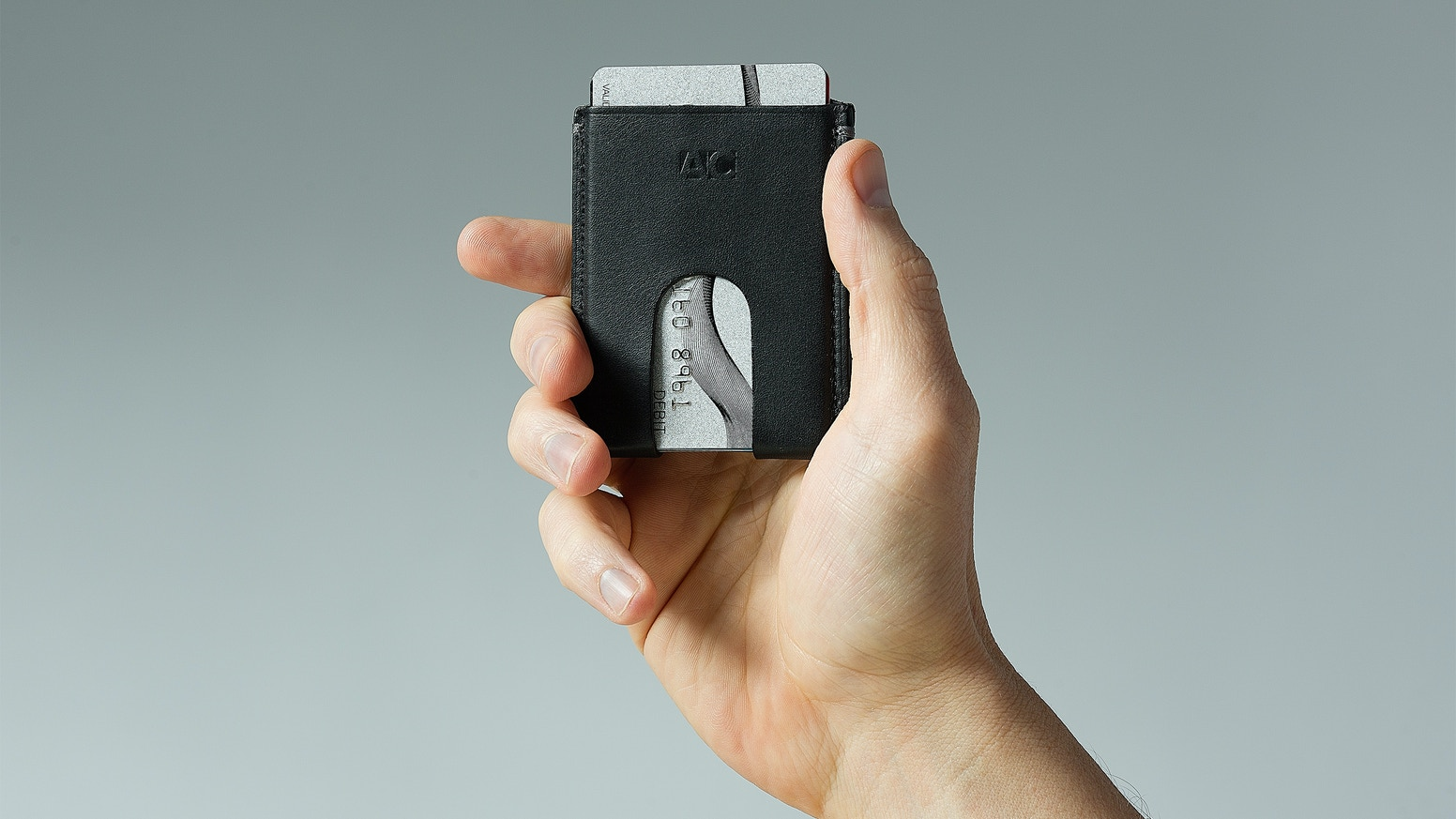 """The ⅛"""" Wallet minimizes your carry and maximizes access with its patent-pending cut-outs."""