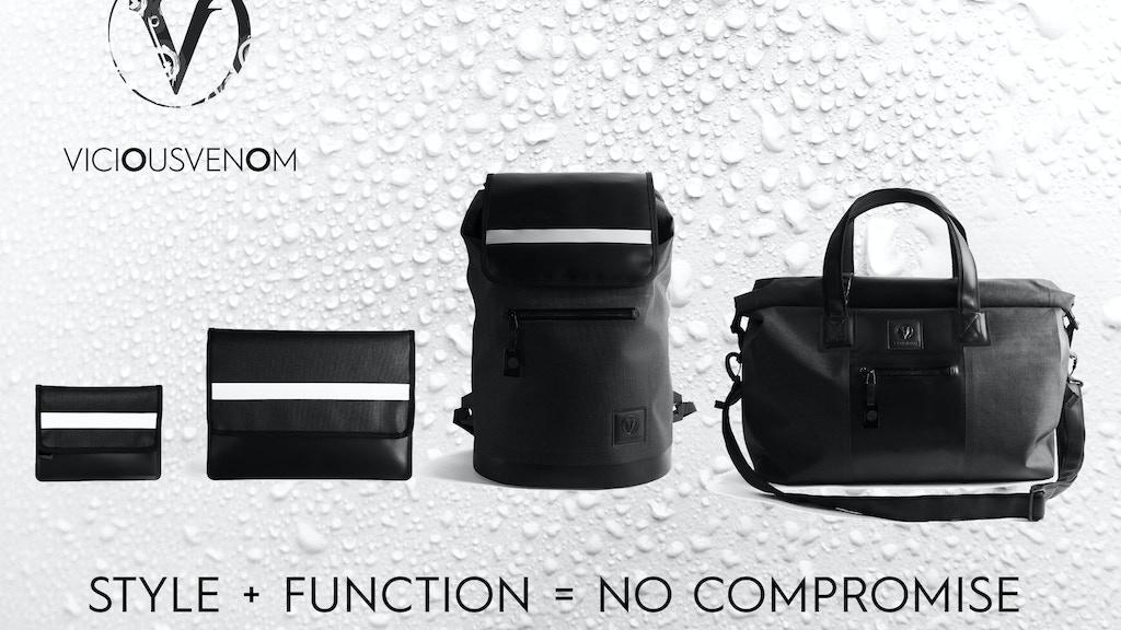 6547b1bd9e47ec Sleek Unisex Waterproof Bags . THE ELEMENTS COLLECTION project video  thumbnail