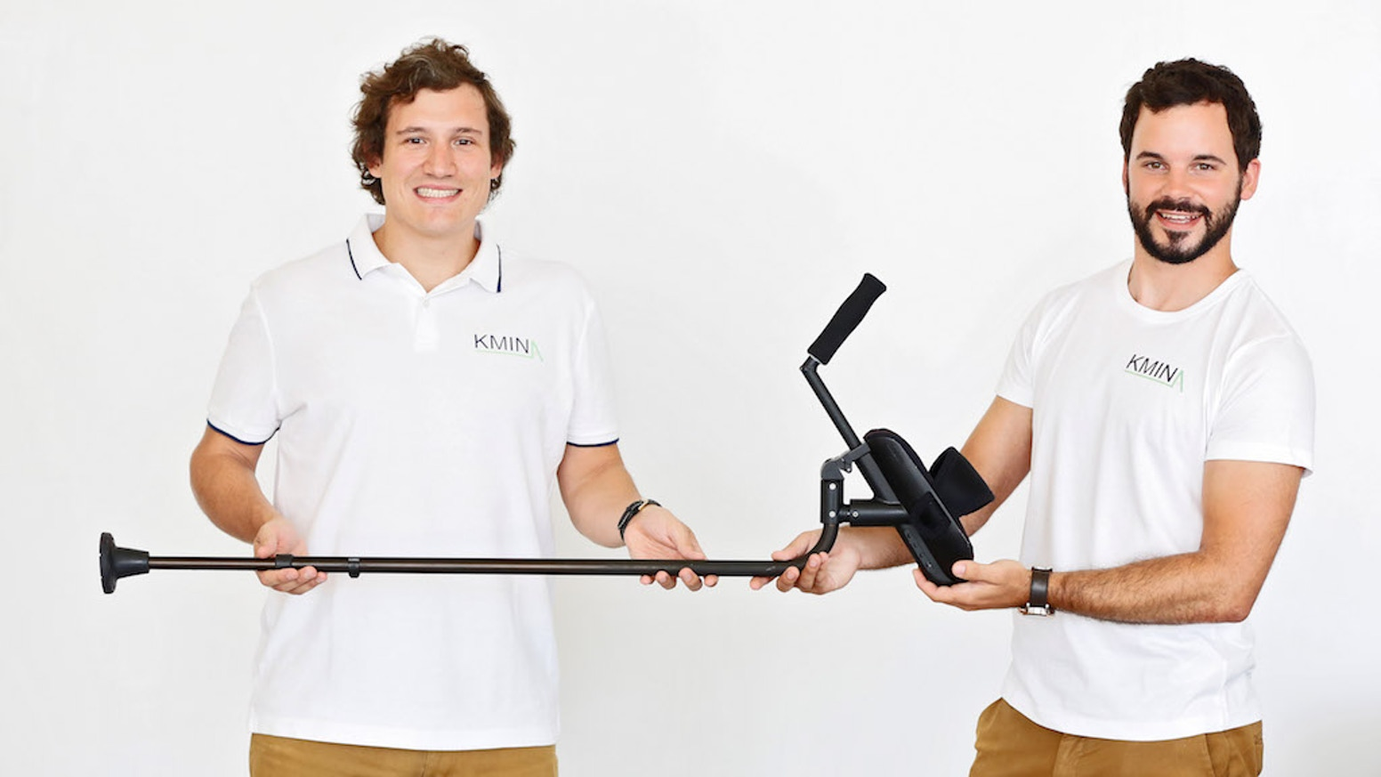 Meet KMINA, these painfree crutches will allow you or people in need to walk farther and safer.