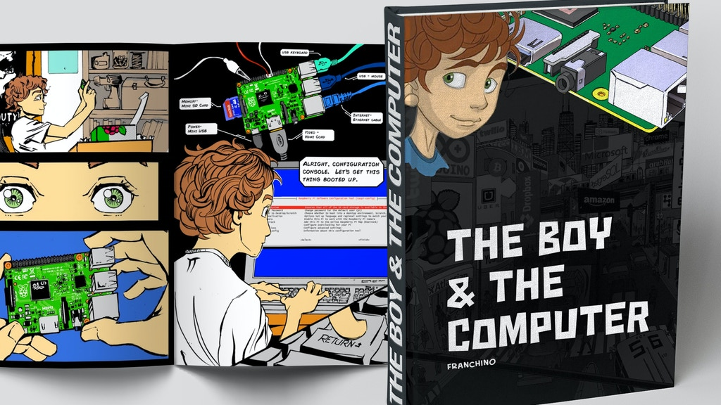 The Boy and the Computer project video thumbnail