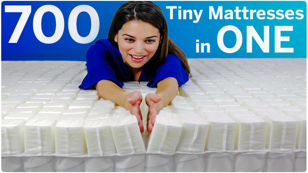 SleepOvation: 700 Tiny Mattresses in One project video thumbnail
