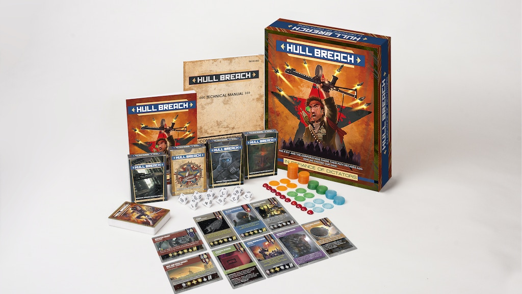 FUNDED: Hull Breach!: In Defiance of Dictators Card Game project video thumbnail