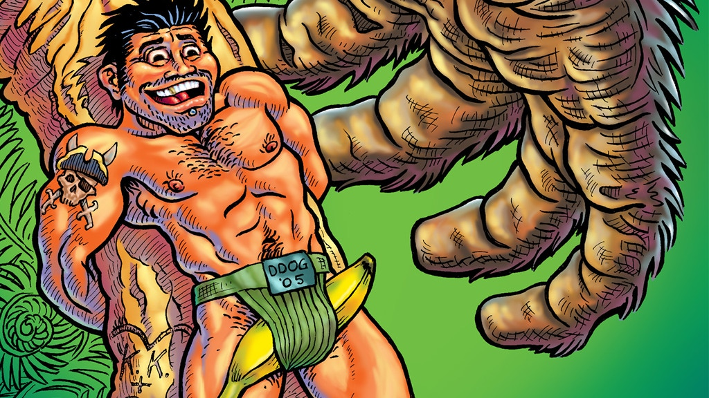 HARD TO SWALLOW: Ten Years of Gay Male Comics project video thumbnail