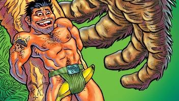 HARD TO SWALLOW: Ten Years of Gay Male Comics