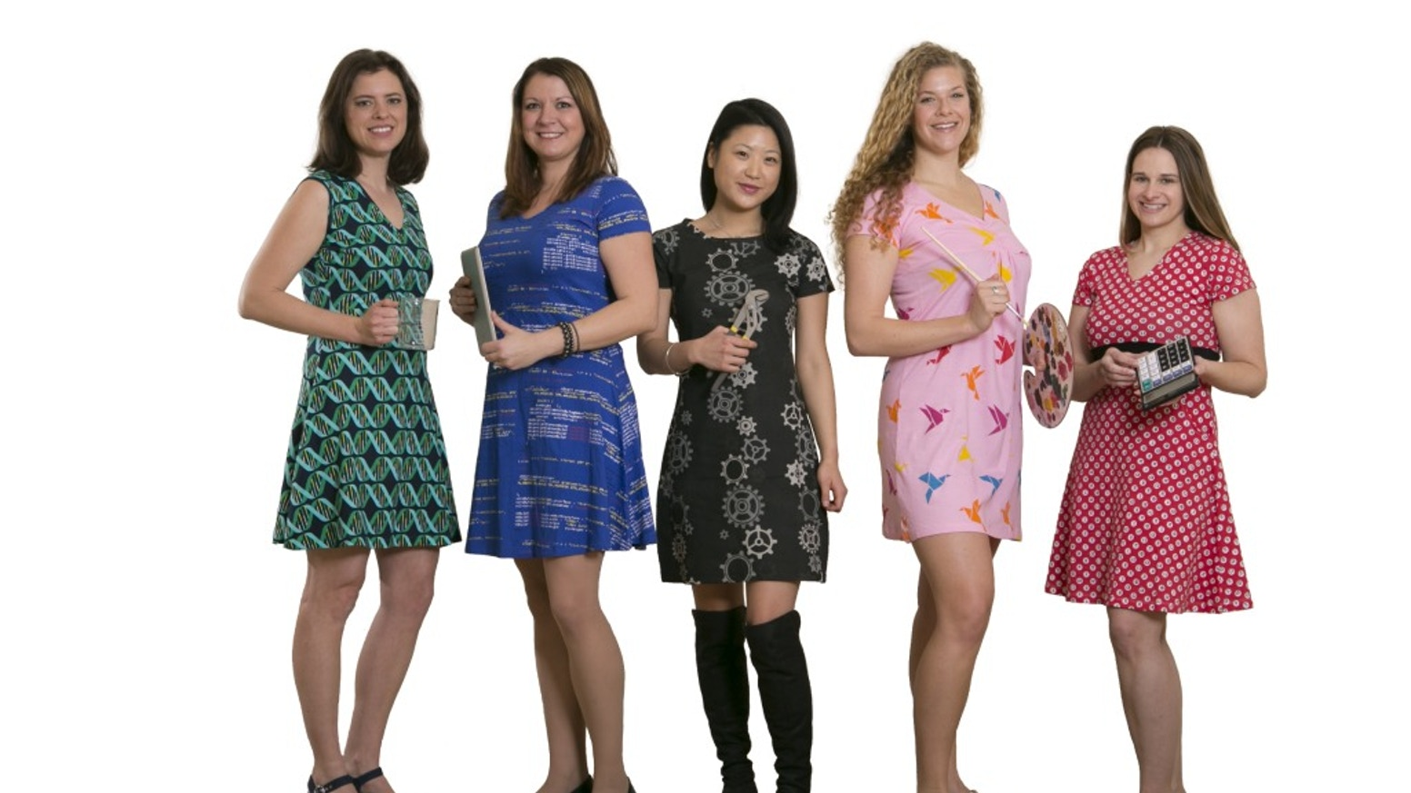 Fun dresses to prove that women who love Science & Technology  can still be feminine & stylish! Our hypothesis - you will love them!