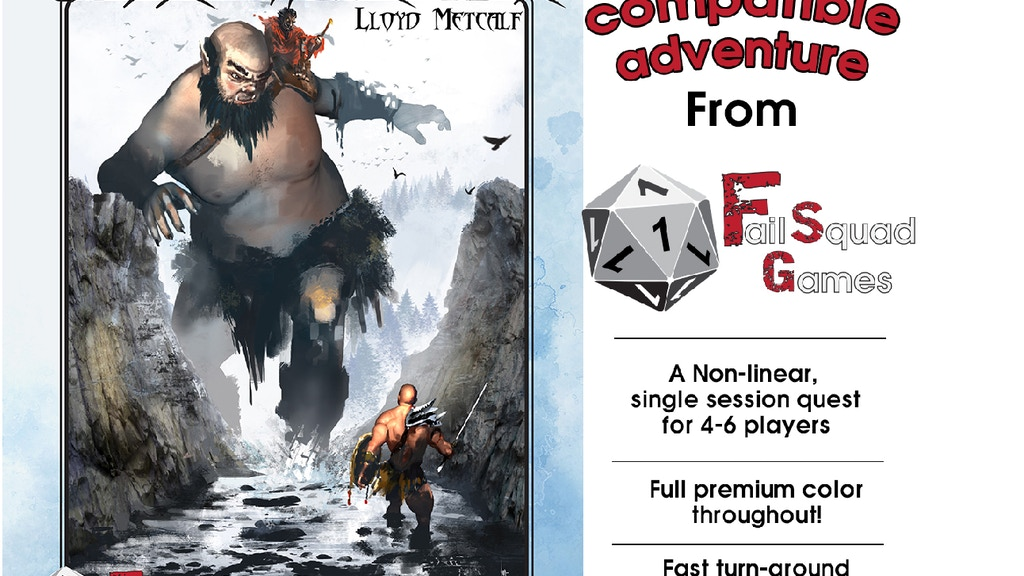 Curse of the White Mine -A 5E adventure project video thumbnail