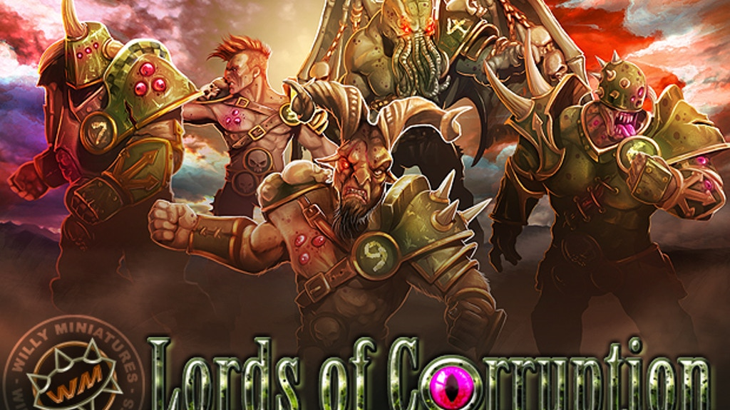 Willy Miniatures - Lords of Corruption Fantasy Football Team project video thumbnail