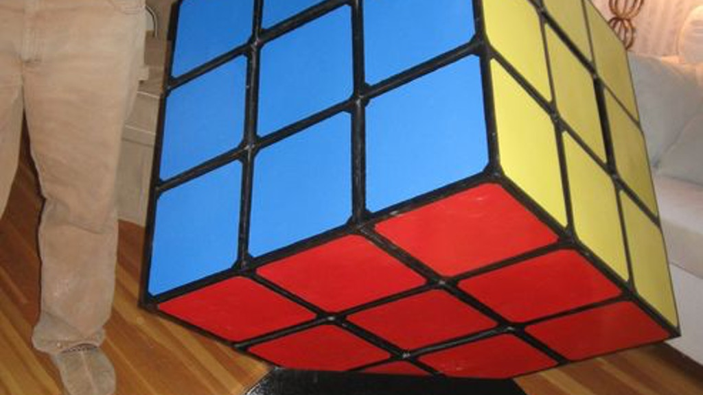 Project image for Giant Rubik's project