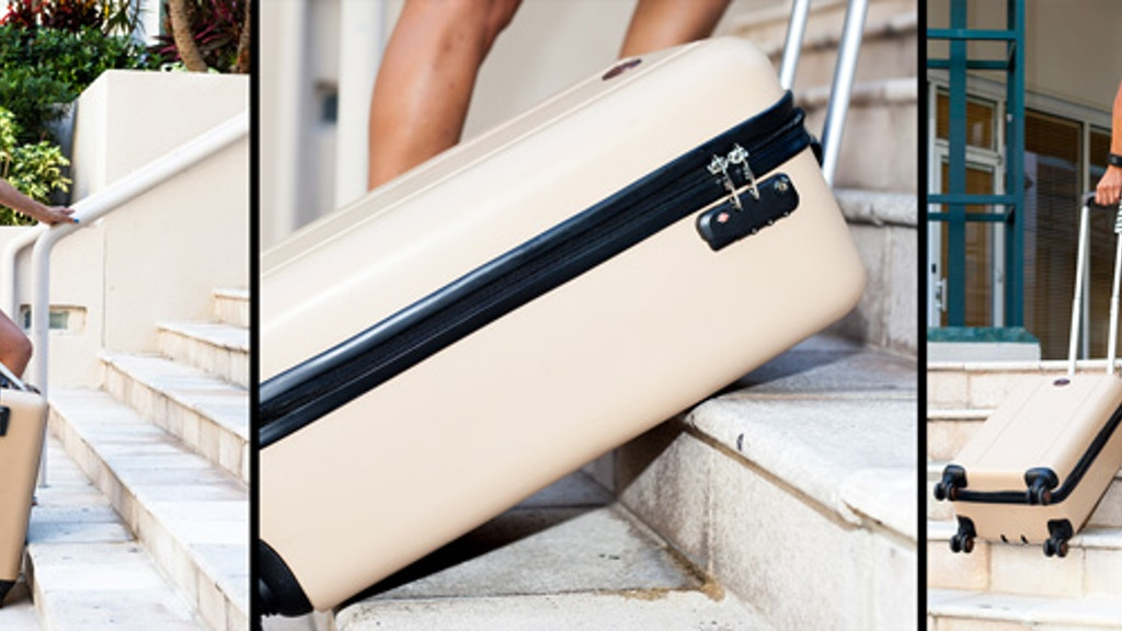 TraxPack Luggage: World's First Stair Climbing Suitcase project video thumbnail