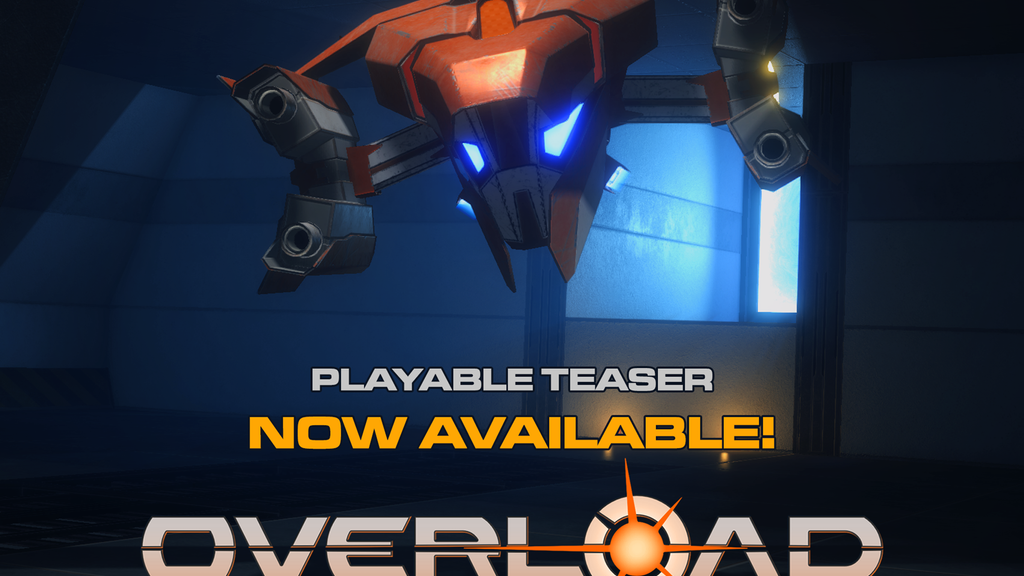 OVERLOAD - The Ultimate Six-Degree-of-Freedom Shooter project video thumbnail
