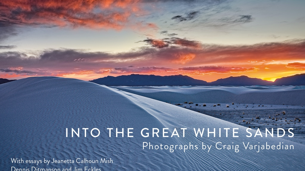 Into The Great White Sands project video thumbnail
