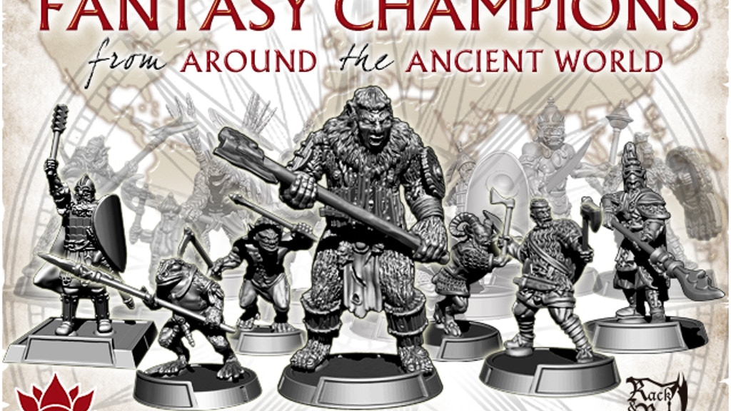 Fantasy Champions from Around the Ancient World - Set Three project video thumbnail
