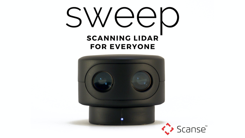 sweep | Scanning LiDAR project video thumbnail