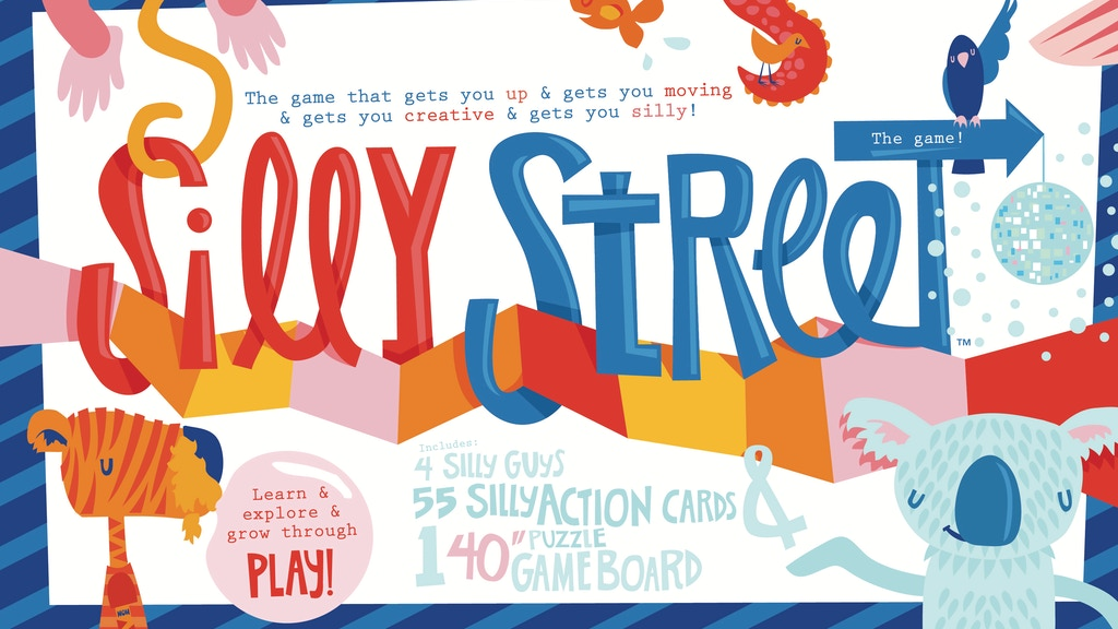 SILLY STREET the family Game!!!! project video thumbnail