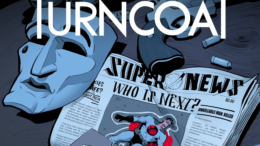 TURNCOAT - The Complete Hardcover Graphic Novel project video thumbnail