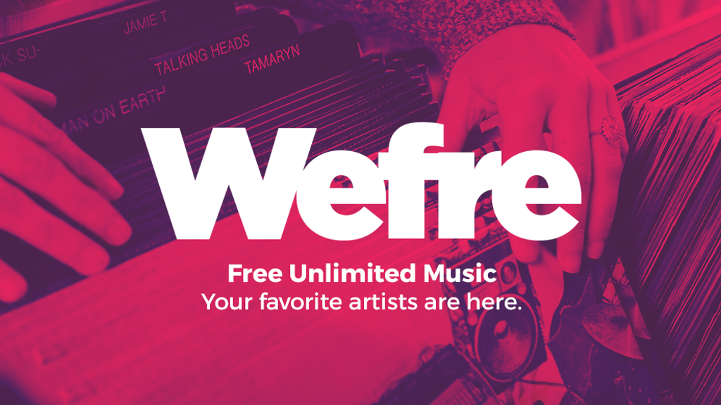 Project image for Wefre - Free Unlimited Music (Canceled)