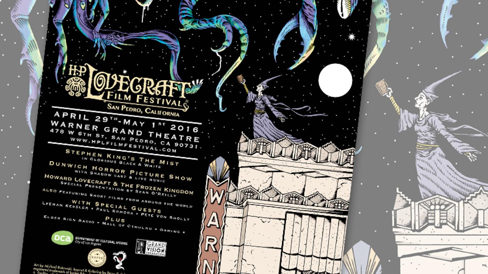 H P  Lovecraft Film Festival® & CthulhuCon™ - San Pedro 2016