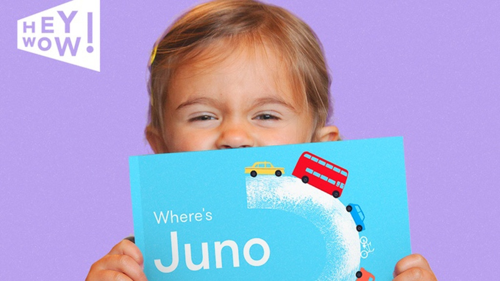 HeyWow! A brilliantly personalised picture book for kids! project video thumbnail