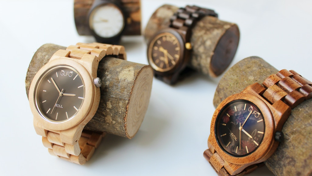 c8b58c389707 GUFO™ The Original Wooden Watches: Ecofriendly & Handmade project video  thumbnail