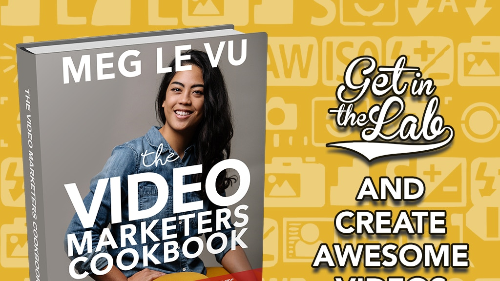 The Video Marketers Cookbook: Kickstarter Campaign project video thumbnail