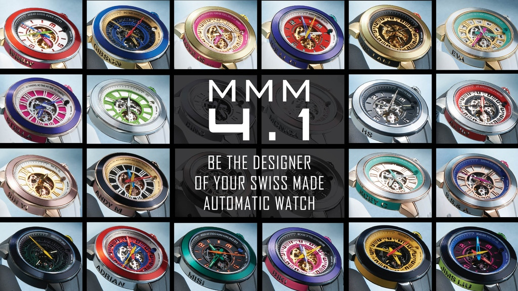 CUSTOMIZED SWISS MADE AUTOMATIC WATCH WITH TRILLION STYLES project video thumbnail