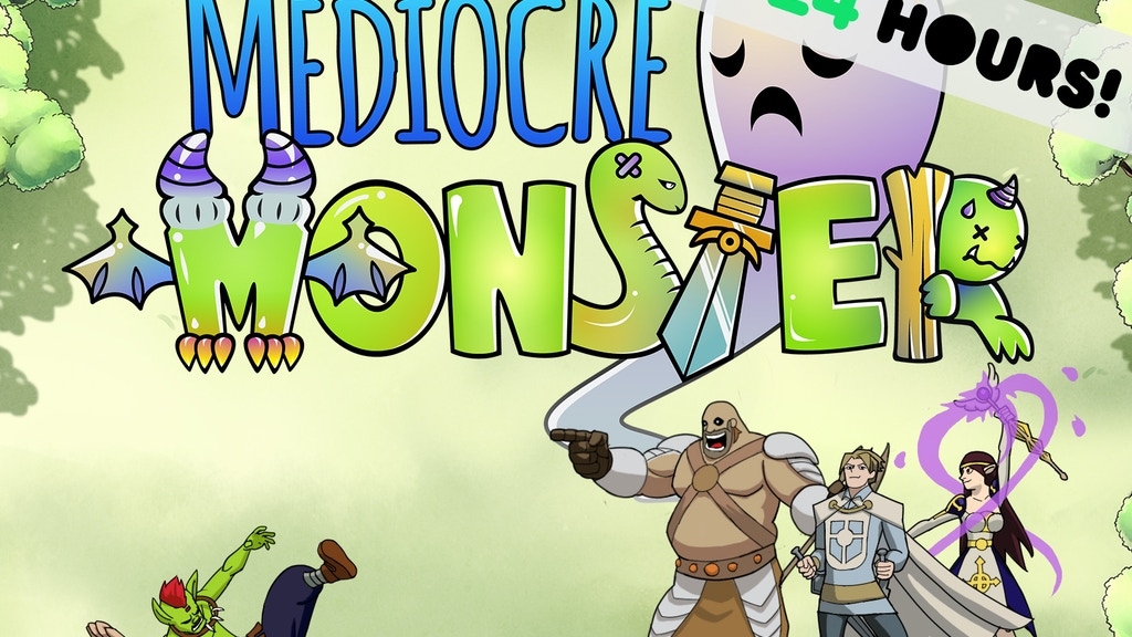 Mediocre Monster - The Life of an RPG Monster project video thumbnail