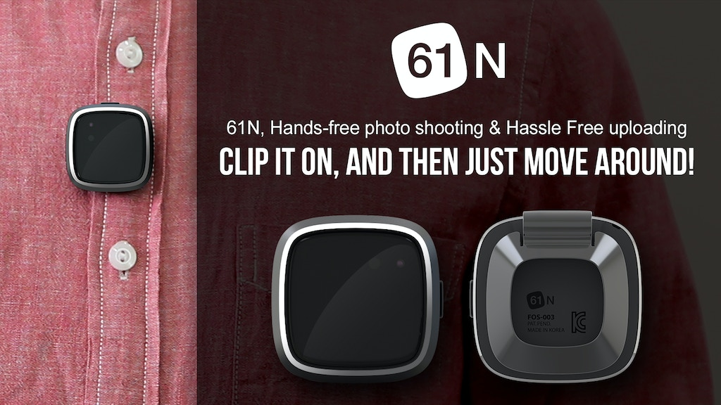 61N, Hands-free photo shooting & Hassle-free uploading project video thumbnail
