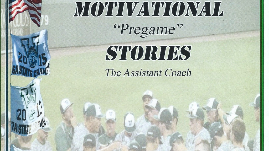 Motivational Stories For Every Coach of Every Sport. project video thumbnail