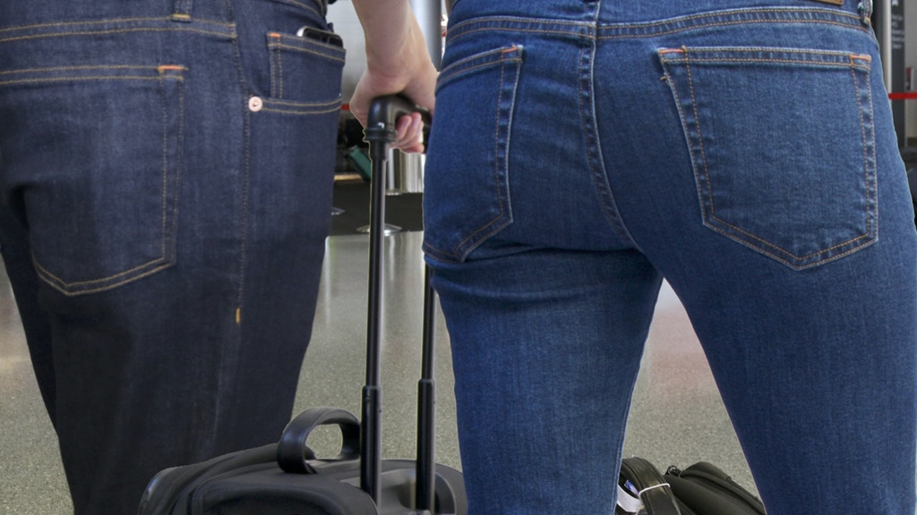 The Best Travel Jeans in the World: Style & Hidden Functions project video thumbnail