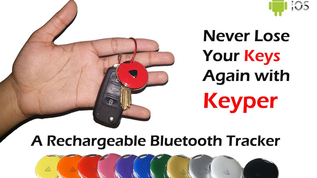 Keyper - A Rechargeable Bluetooth Tracker Device project video thumbnail