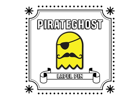 Hello Pirateghost Sticker
