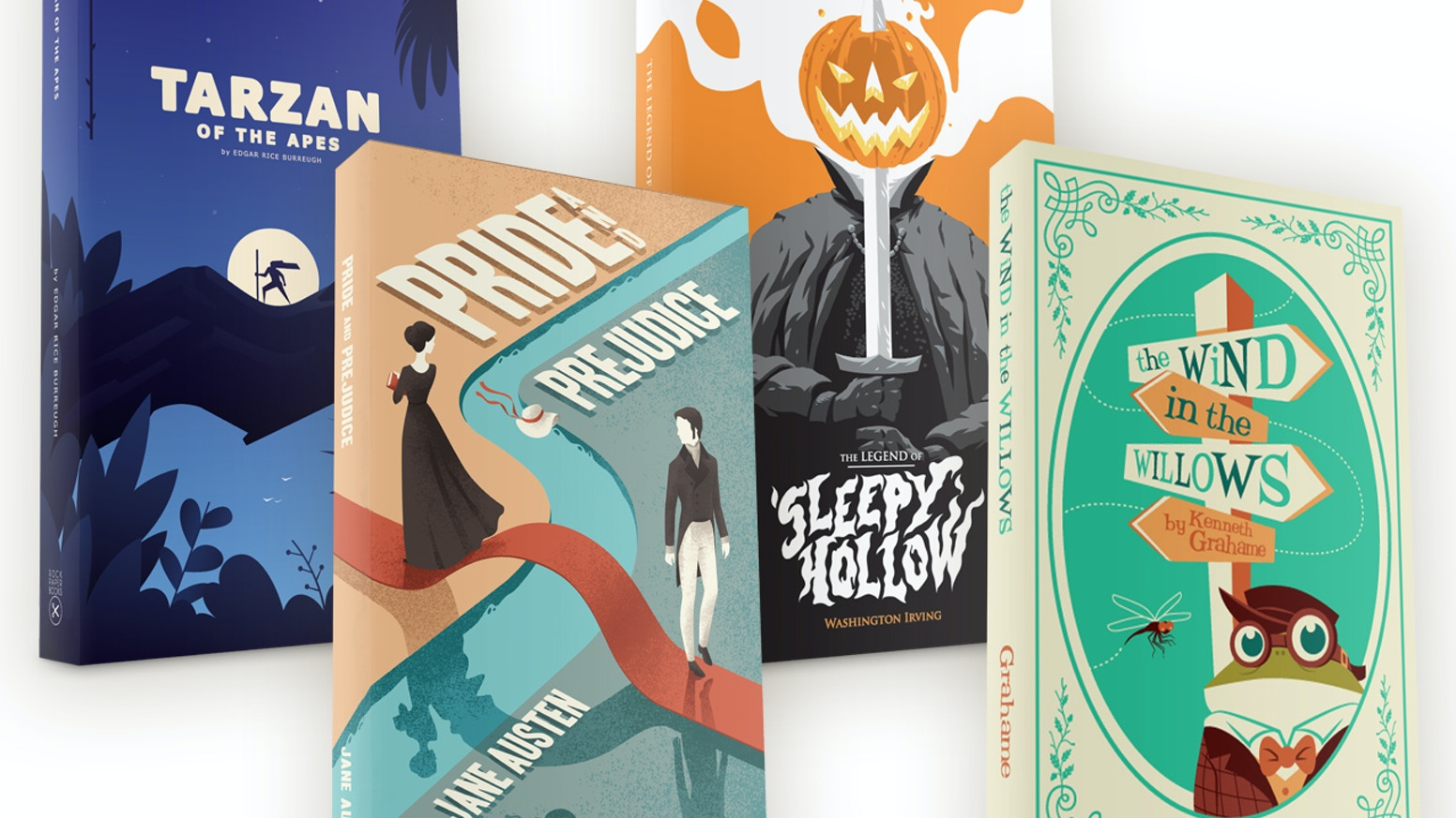 An army of artists join forces to revive and republish some of the most popular classic books.