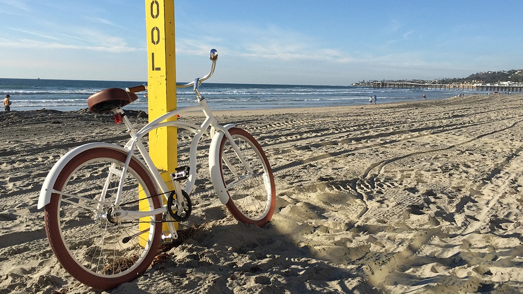 A beach cruiser finally designed to survive beach bike life. project video thumbnail