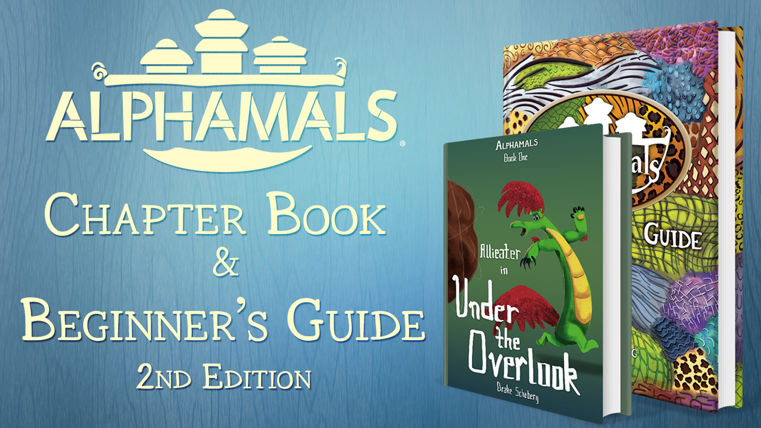 The Alphamals' world is expanding and their story has begun. Finally, the Beginner's Guide gets a companion, the first Chapter Book!
