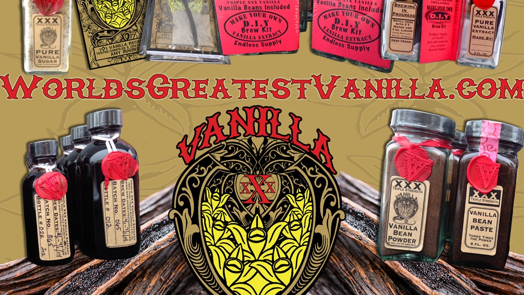 Smoked Vanilla - Triple XXX Vanilla - The Big Launch! project video thumbnail