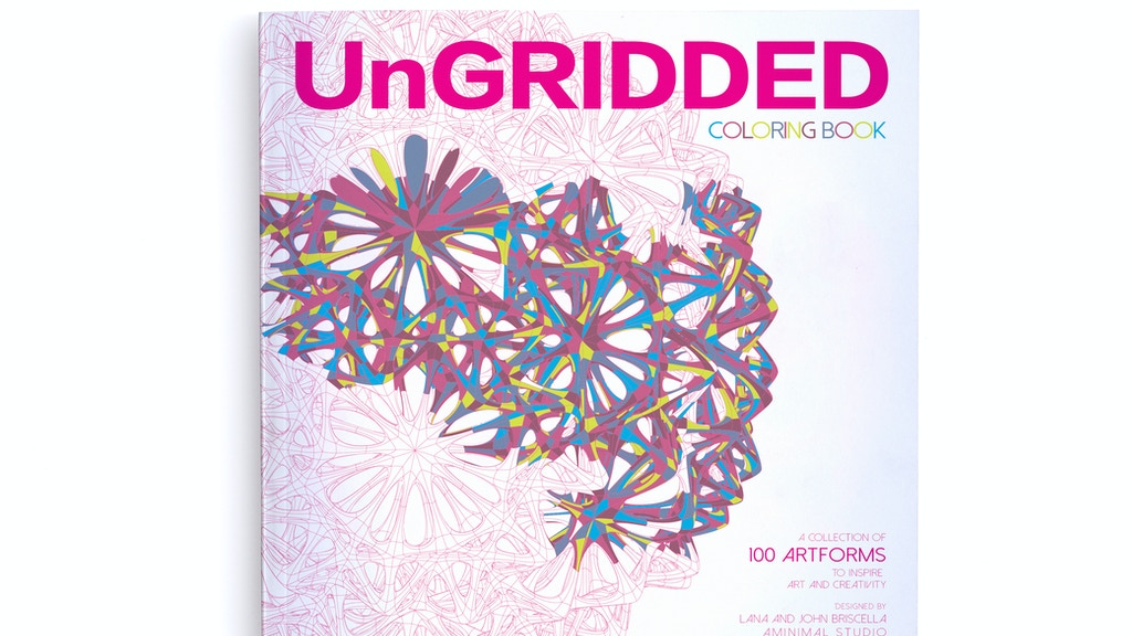UnGRIDDED Coloring book and Notebooks project video thumbnail