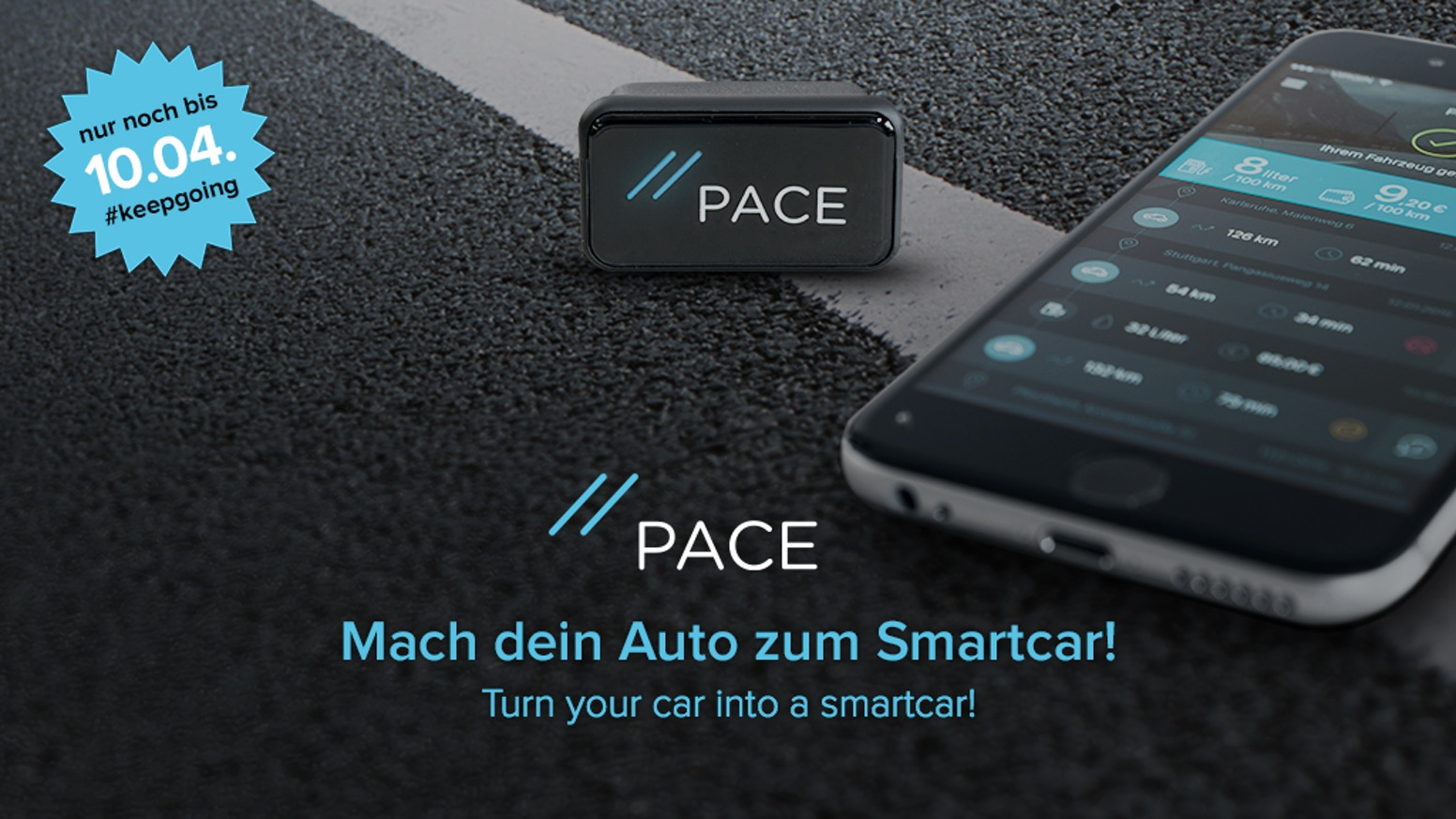 pace mach dein auto zum smartcar by pace kickstarter. Black Bedroom Furniture Sets. Home Design Ideas