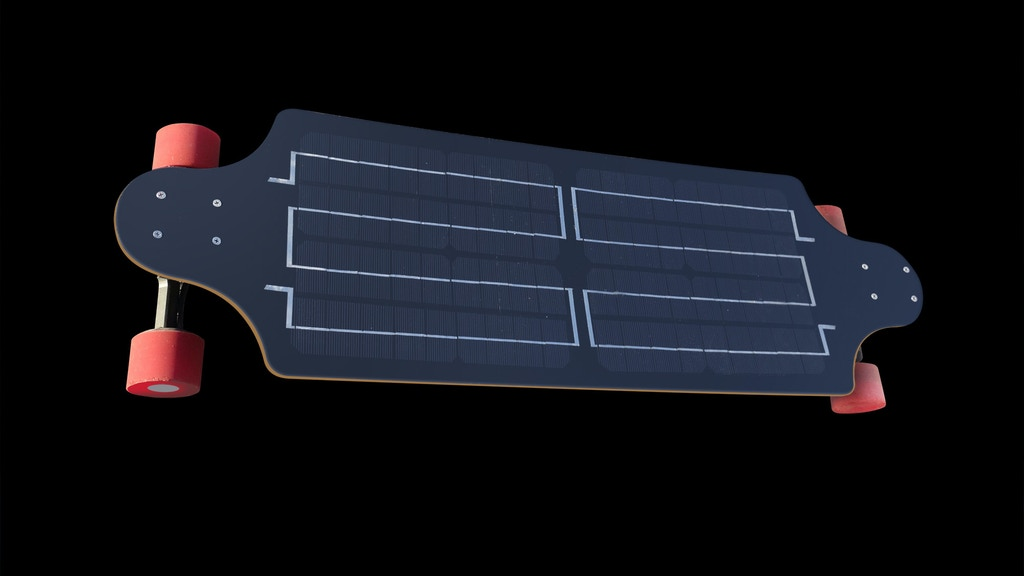 YoungBoard-The world's first real solar electric skateboard project video thumbnail