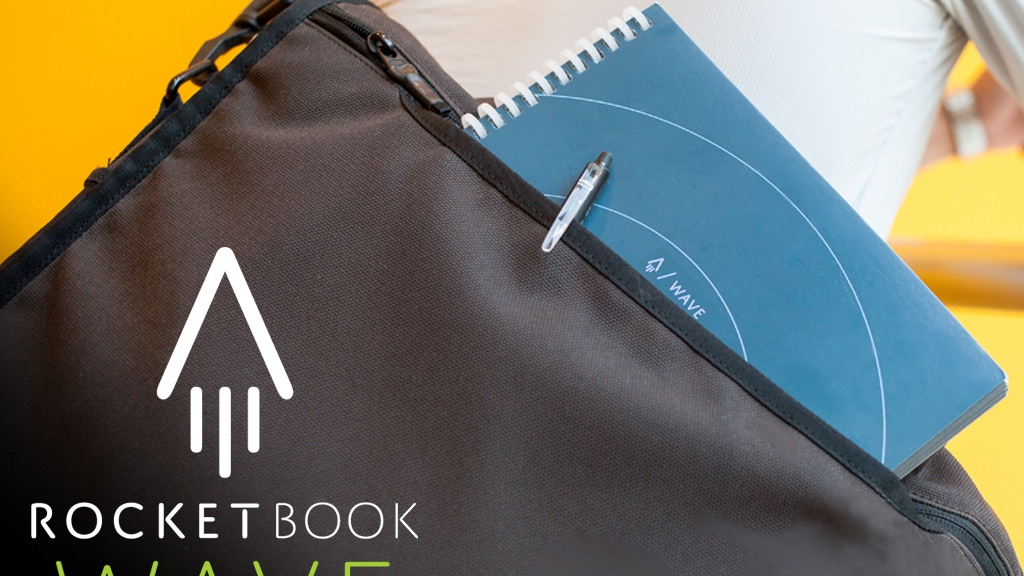 Rocketbook Wave: Cloud Connected Microwavable Notebook project video thumbnail