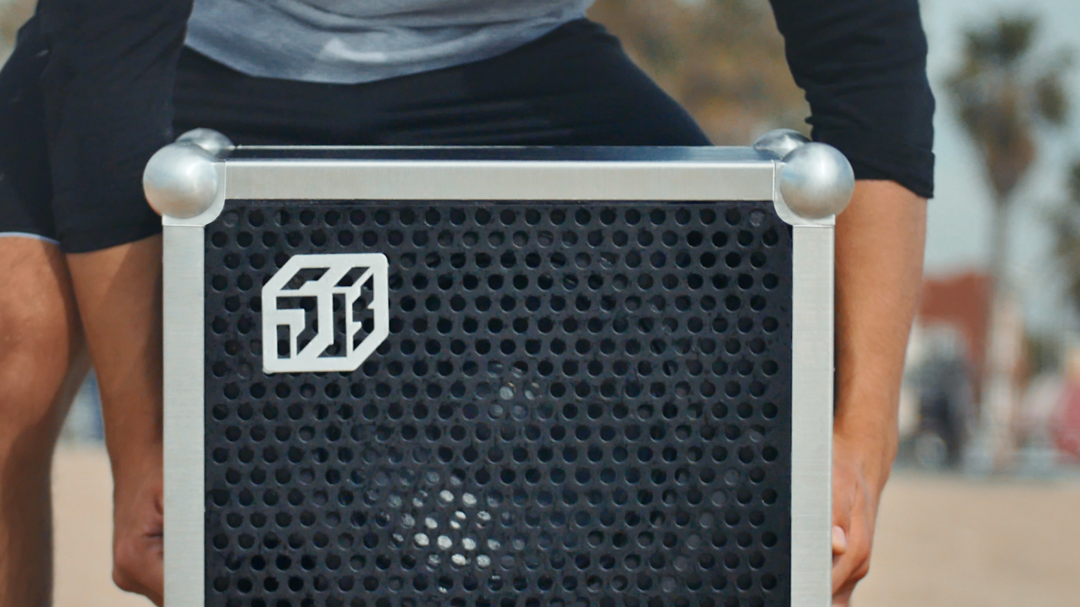 The first and only portable speaker capable of throwing a real party.