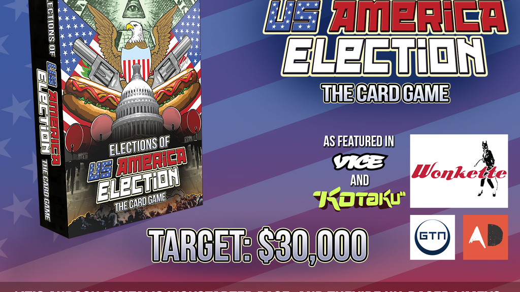Elections of US America Election: The Card Game project video thumbnail