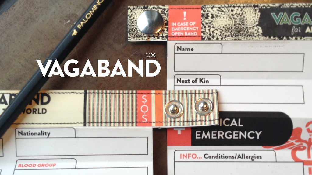 The Vagaband - An ID Bracelet for the Modern Adventurer project video thumbnail