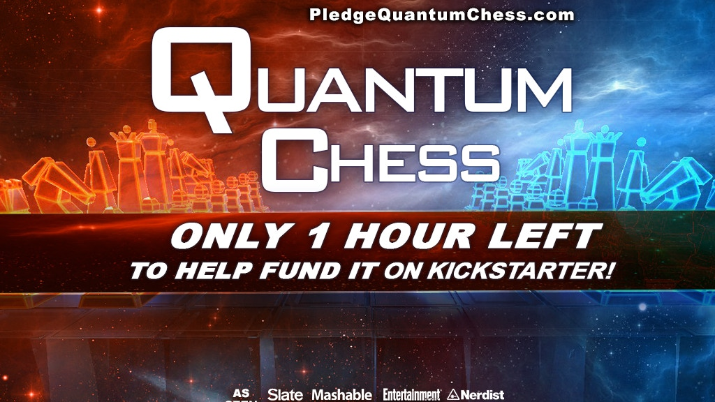 Quantum Chess - #QuantumChess project video thumbnail