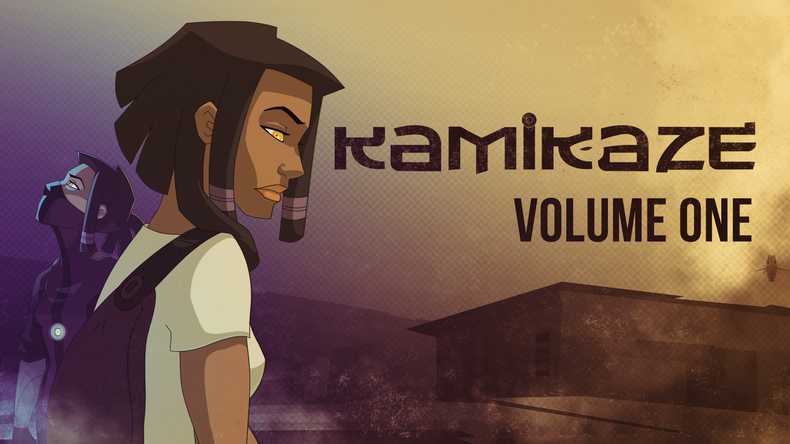 Thank you for helping us bring the Award Winning webcomic Kamikaze to its first printed form - a 60 page graphic novel!
