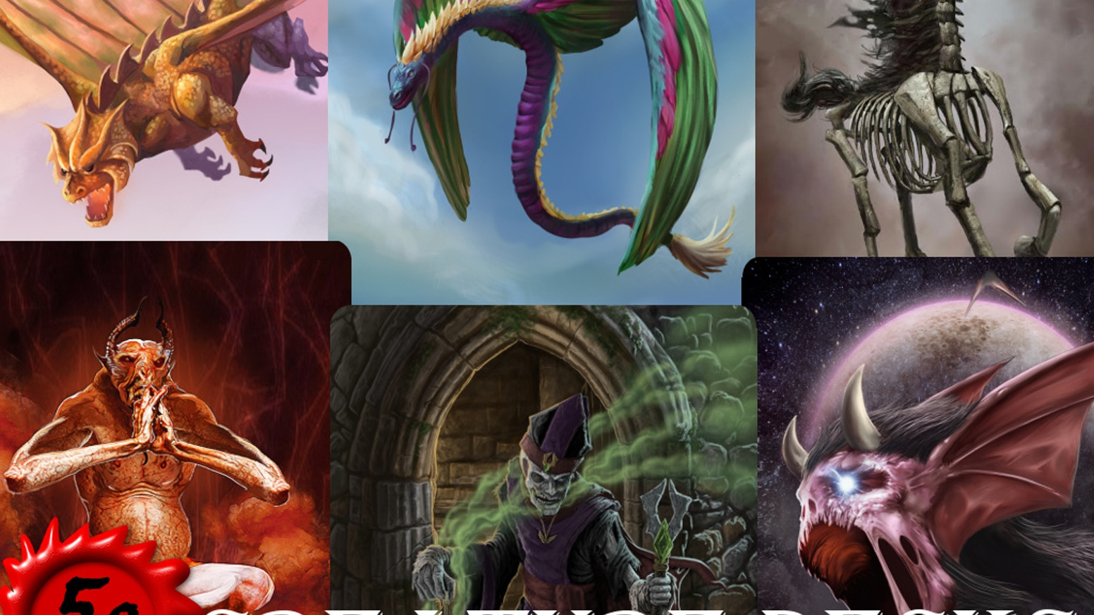 5e Creature Decks by Inkwell Ideas — Kickstarter
